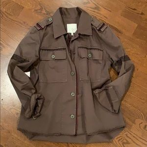 Joie embroidered army jacket